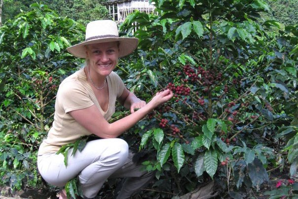 At Coffee Estate Hacienda Venecia in Colombia