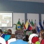 Maja Wallengren at IWCA in El Salvador