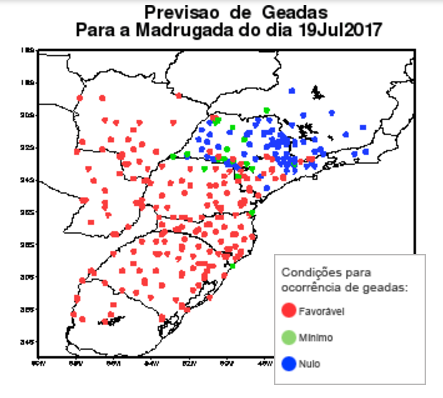 BREAKING: Cold Front Hits Brazil's Parana Coffee Regions With Frost In 3-Day Attack