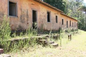 The Old Slave Quarters At Coffee Fazenda Topaz in Brazil