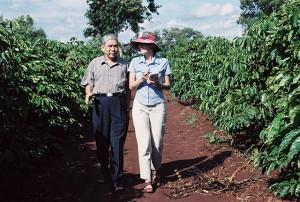 With Doan Trieu Nhan in Vietnam's Central Highlands Coffee Region